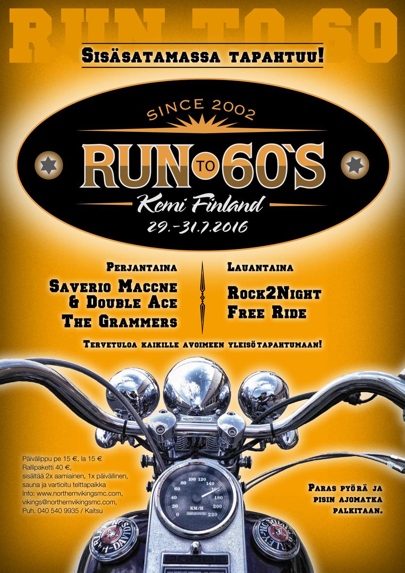 Run To 60's 2016