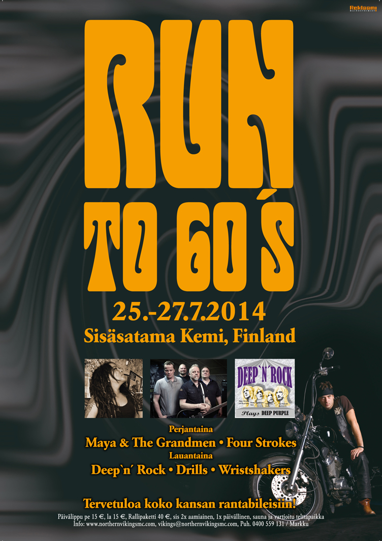 Run To 60's 2014